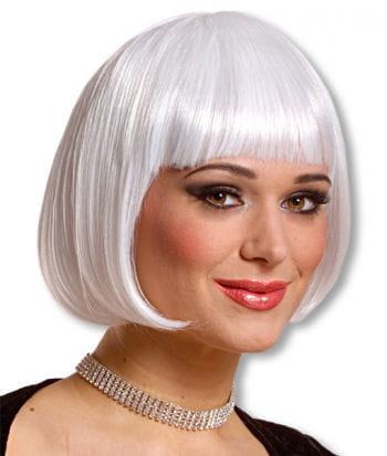 White Pageboy Cut Wig