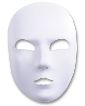 White satin Face mask