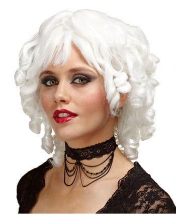 White Stopsellocken Wig