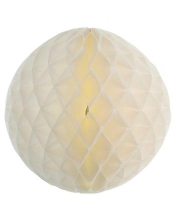 Honeycomb ball 50cm white