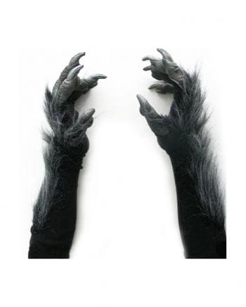 Werewolf Gloves Deluxe Black