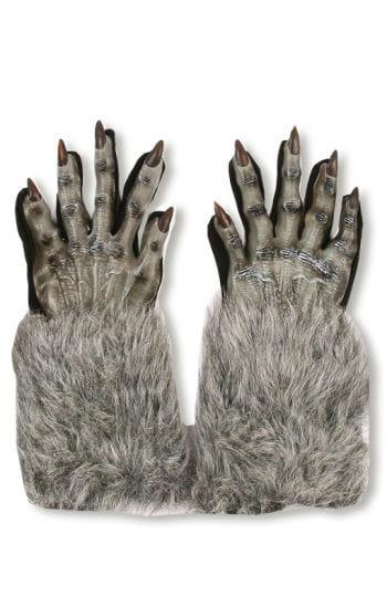 Werwolf Handschuhe Grau