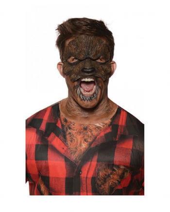 Werwolf Lykaner Halbmaske
