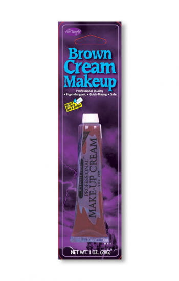 Professional Cream Make Up Brown