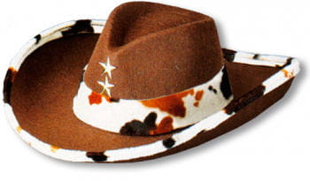 Western Felt Hat Brown