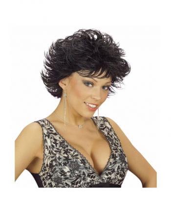 Wet Look Wig Dannii Black