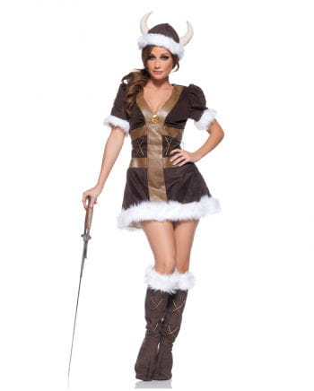 Wikinger Prinzessin Premium Kostüm Gr. S