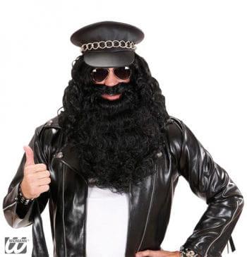 Wild Full Beard Black