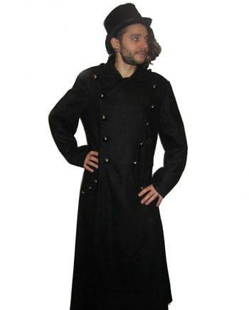 Uniform style wool coat size S