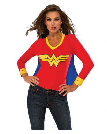 Wonder Woman shirt with cape