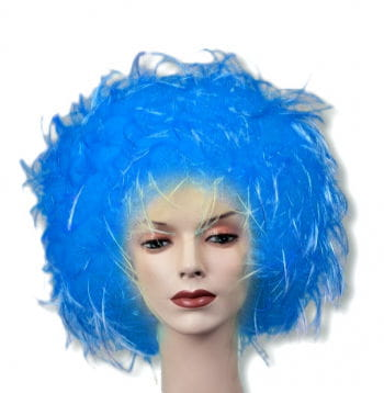 Tousled Wig Blue