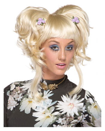 Damenperücke Yuki blond