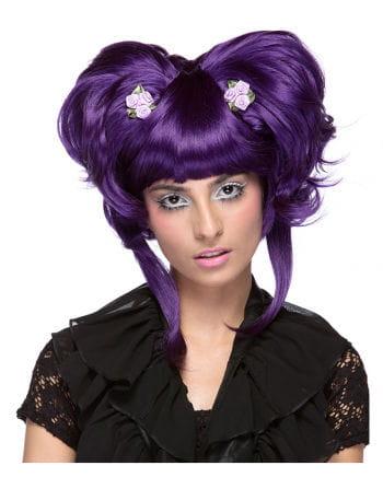 Damen Perücke Yuki violett