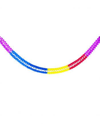 Zacken Girlande multicolor