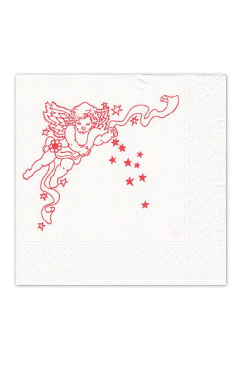 Napkins with angel motif