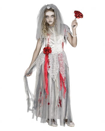 Zombie Bride Children Costume