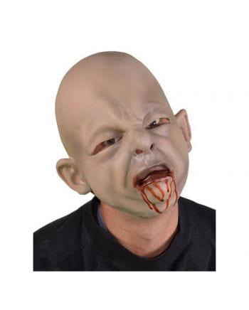 Zombie Baby Latex-Maske