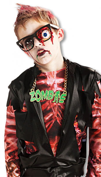 Zombie Glasses with Hanging Eye