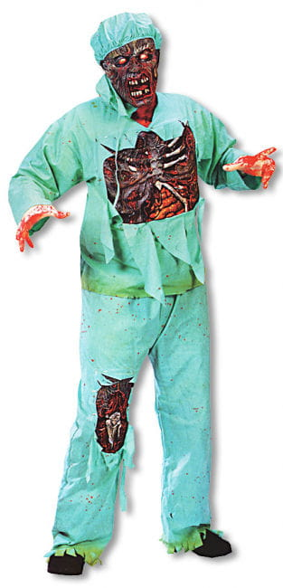 Zombie Doctor Kostüm Plus Size XL