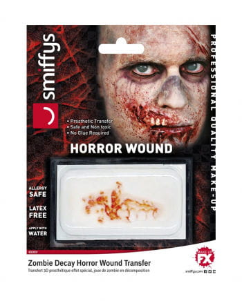 3D FX wound disintegrated Zombie Mouth