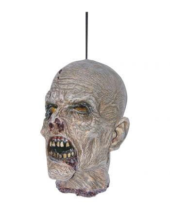 Zombie Schädel aus Latex