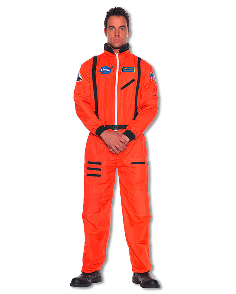 astronauten overall orange xxl raumfahrer kost m. Black Bedroom Furniture Sets. Home Design Ideas