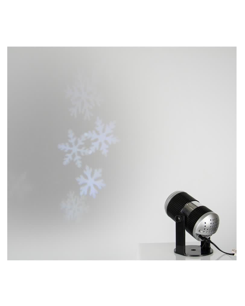 schneeflocken led projektor winter effekt beleuchtung. Black Bedroom Furniture Sets. Home Design Ideas