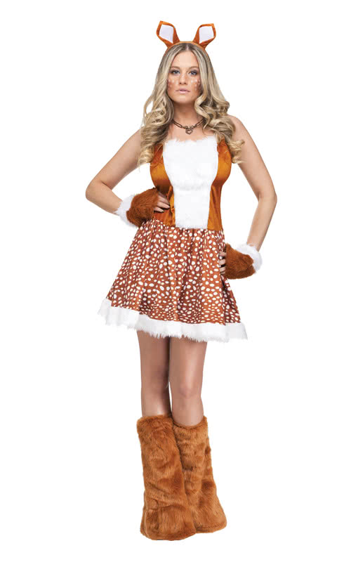 sexy deer costume for women sexy animal costume for women horror. Black Bedroom Furniture Sets. Home Design Ideas