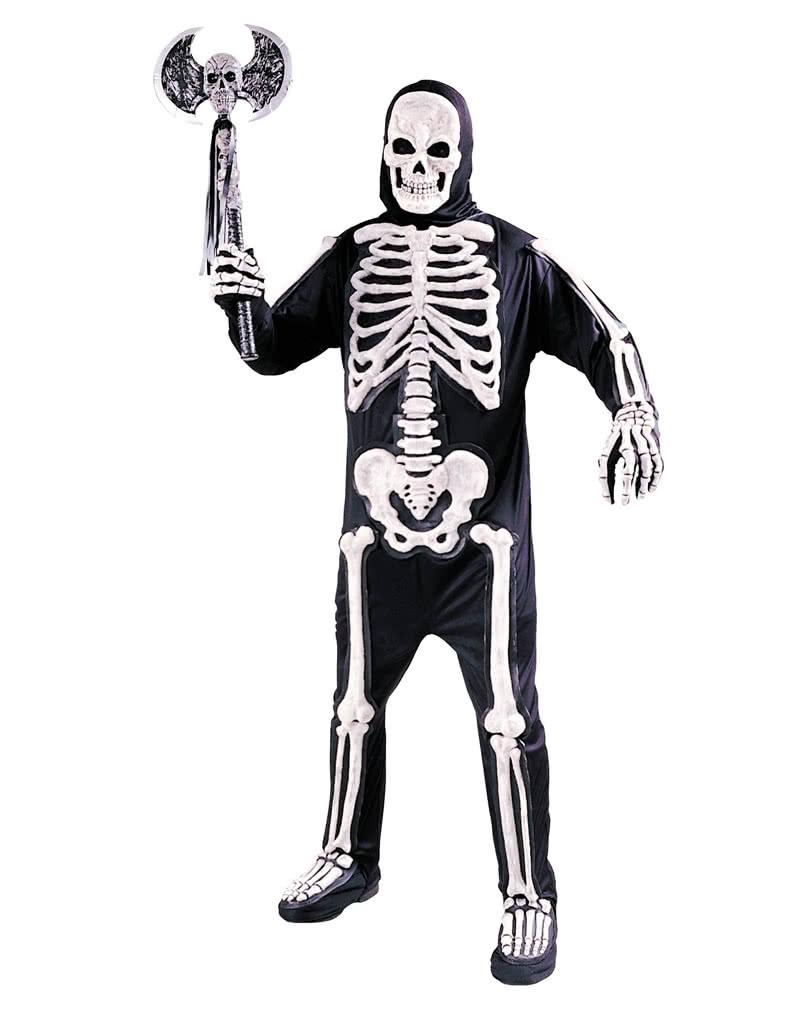 3d skelett kost m adult f r halloween horror. Black Bedroom Furniture Sets. Home Design Ideas