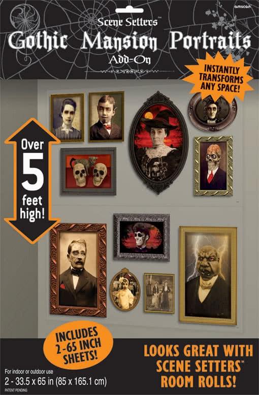 scary portraits wall film halloween horror portraits horror shopcom
