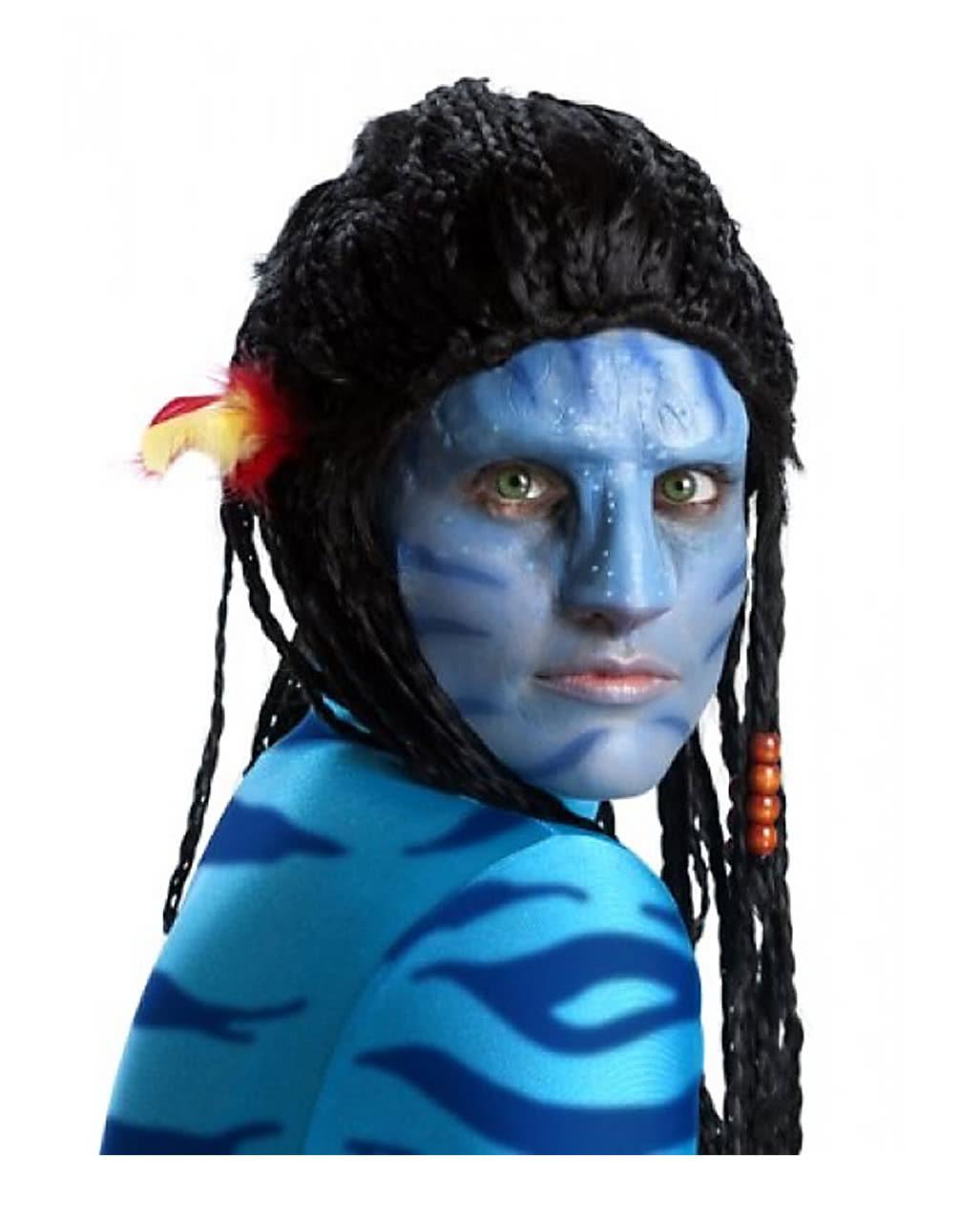 Avatar Na`vi Make-up set with nose For Halloween   horror-shop.com