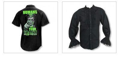 Men's Gothic Shirts