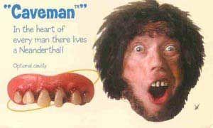Caveman Gebiss
