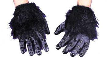 Gorilla Hände schwarz