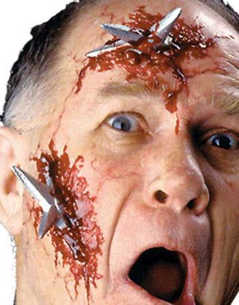 Wurfstern wound / Ninja Star Injury