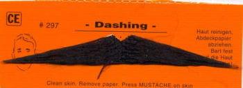 beard Dashing black