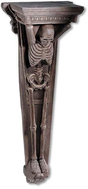 Skelett Wandkonsole