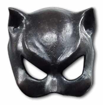 Catwoman Latex Halbmaske