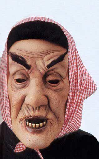Old granny mask alrauna
