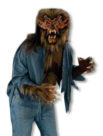 werewolf shirt brown - Halloween Werewolf