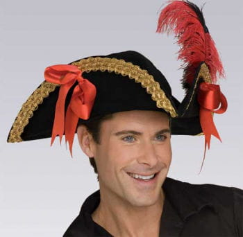 Pirate hat with ribbons