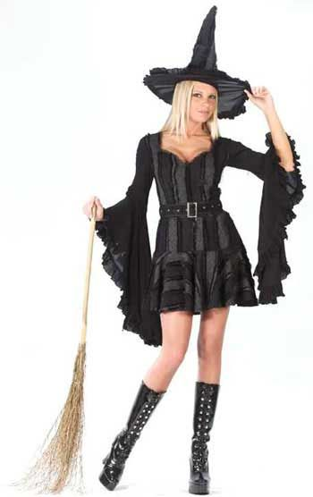 Frivole Gothic Hexe Kostüm Gr. ML