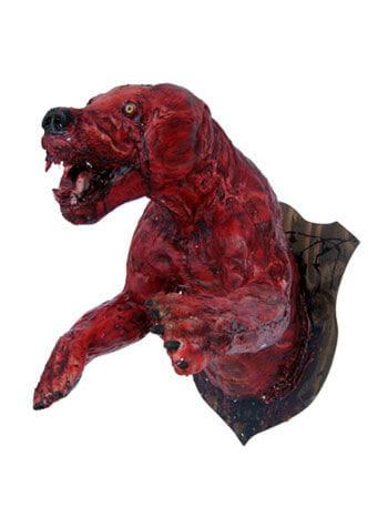 gehäuteter blutiger Bär