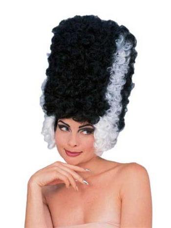 Frankenstein Monster Bride Wig black / white