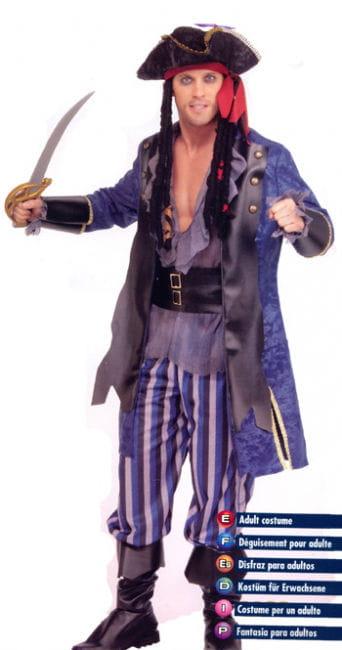 Piratenkapitän Kostüm Gr. XL