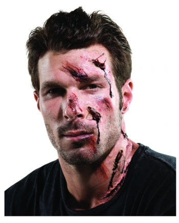 Accident makeup kit for Halloween 15 pcs.