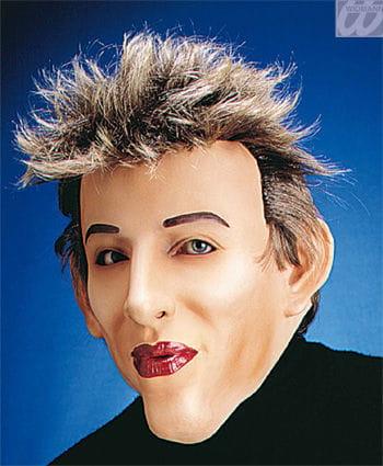 Playboy Harry Maske mit Haaren