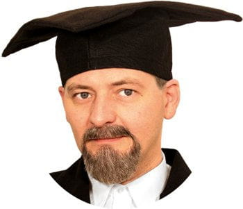 Professor beard combination brown