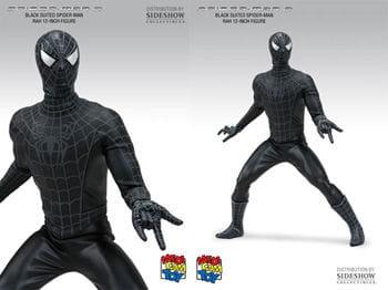 Black Spider Man Action Figure