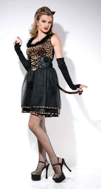 Leopard Kitten Costume Size L